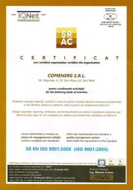 Certificare SRAC ISO-9001