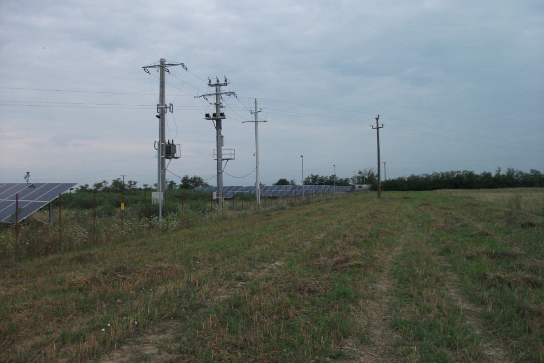 Centrala electrica voltaica Ruseni Judetul Satu Mare