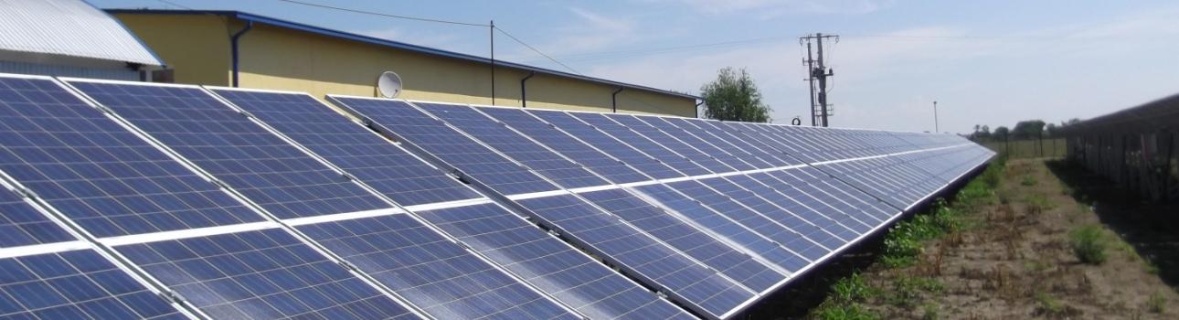 Instalatie electrica de producere energie electrica , fotovoltaica in Jud. Satu Mare Localitatea Pisolt